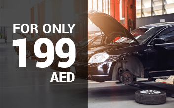 Get 199 AED ONLY for your Car Care